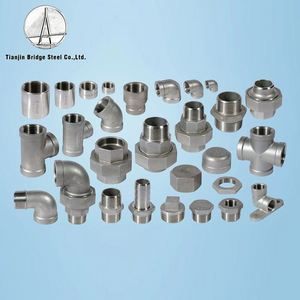Gi Nipple Pipe Fitting Threaded Union Elbow Pipe Fittings