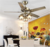 Home Fans Decorative 48'' Ceiling Fans with Light and Remote Controls