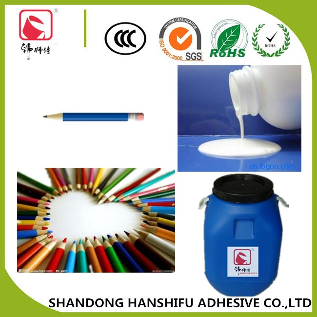 High Quality White Liquid Latex Acrylic Resin Adhesive Glue for Wood Pencil  and Paper Pencil
