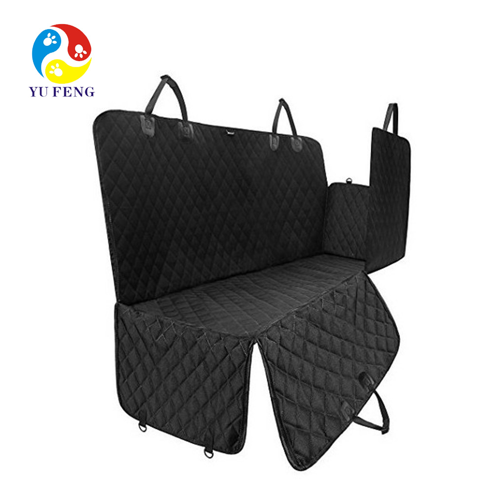 Auto Seat Hangmat voor Honden Rear Back Seat Covers Pet Seat Belt Veiligheid Protector Dog Travel Carrier Kat Mat Deken suvs