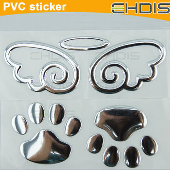 El stickers fashion decoration sticker fancy adhesive - Decoration murale auto adhesive ...