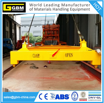 Gbm Iso 20 Ft Container Spreader 40 ' Semi Automatic Container ...