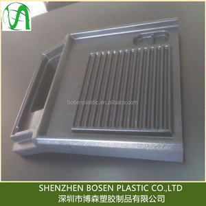 Custom ABS plastic vacuum formed product with painting finish