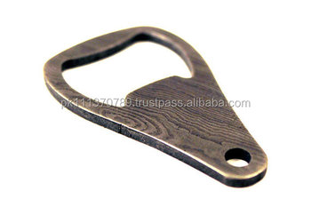 damascus bottle opener key - Key Bottle Opener