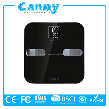 WIFI wireless bluetooth smart body fat scale CE ROHS