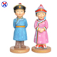 Polyresin Ethnic culture crafts statue resin mongolia woman and men figurine