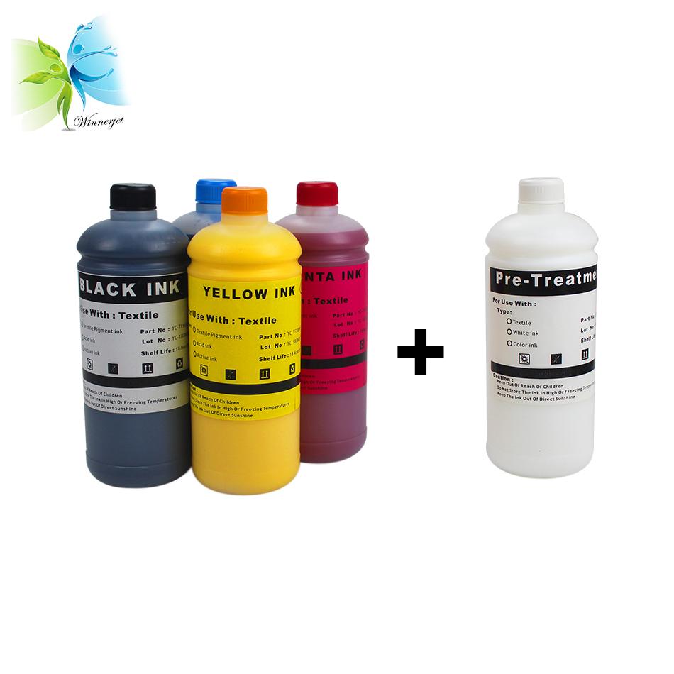T-Shirt-Tinte aus Baumwolle für den Epson DTG-Drucker F2000 F2100