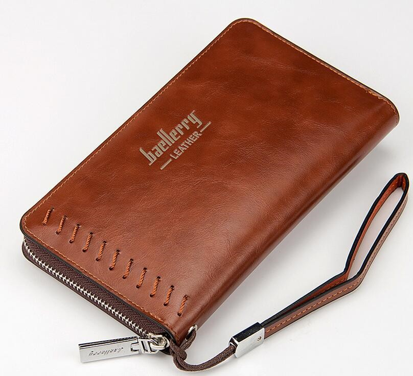 Baellerry brand euro america long design multi function wallet clutch bag for men