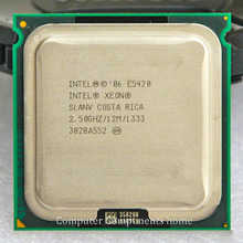 Original  E5420 2.5GHz/12M/1333Mhz/CPU equal to LGA775  works on LGA775 with two PCS 771 to 775 adapter warranty 1 year