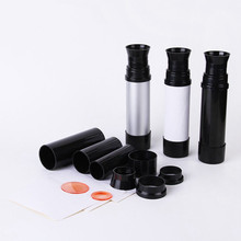 12X30 promotion children exploration plastic telescope monocular