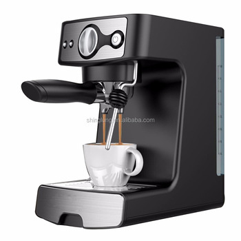 15 bar espresso coffee machine with the steam function to frothing milk from cappuccino