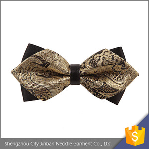 Top quality Cheap price Best Selling yarn dyed kids bowtie silk