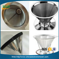 Buy COLLAPSIBLE SILICONE TRAVEL COFFEE FILTER CONE for your Office ...