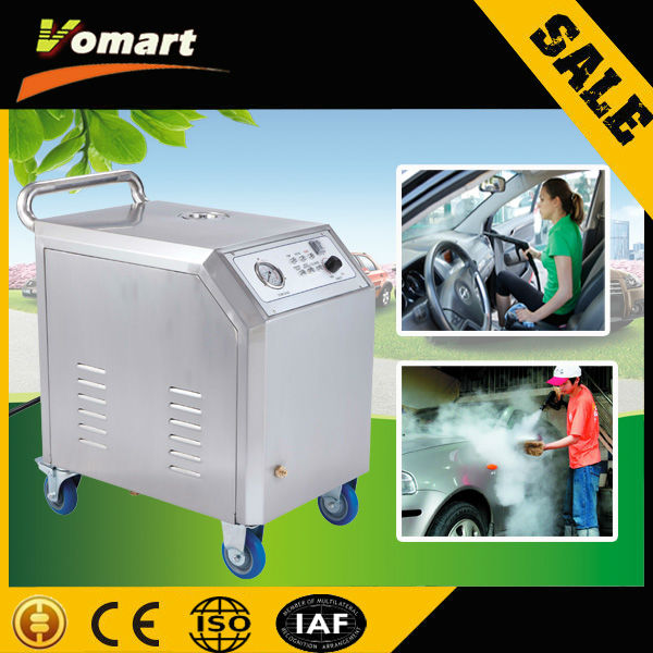 2014 CE 220V 8KW steam car washer/steam car wash machine/steam hot water high pressure cleaner