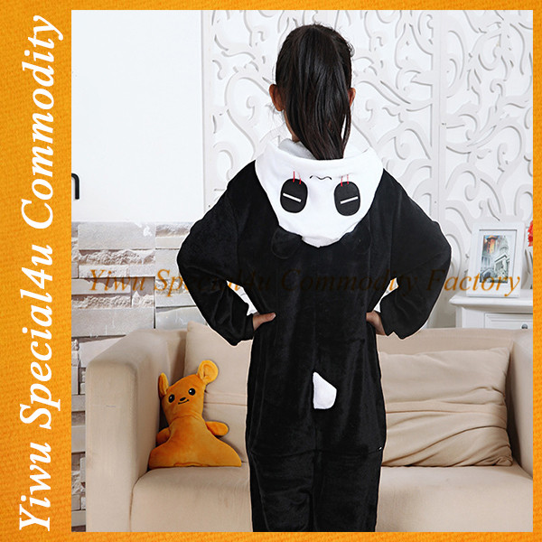 2016 children winter pajamas kids panda onesie pajamas wholesale SY-005