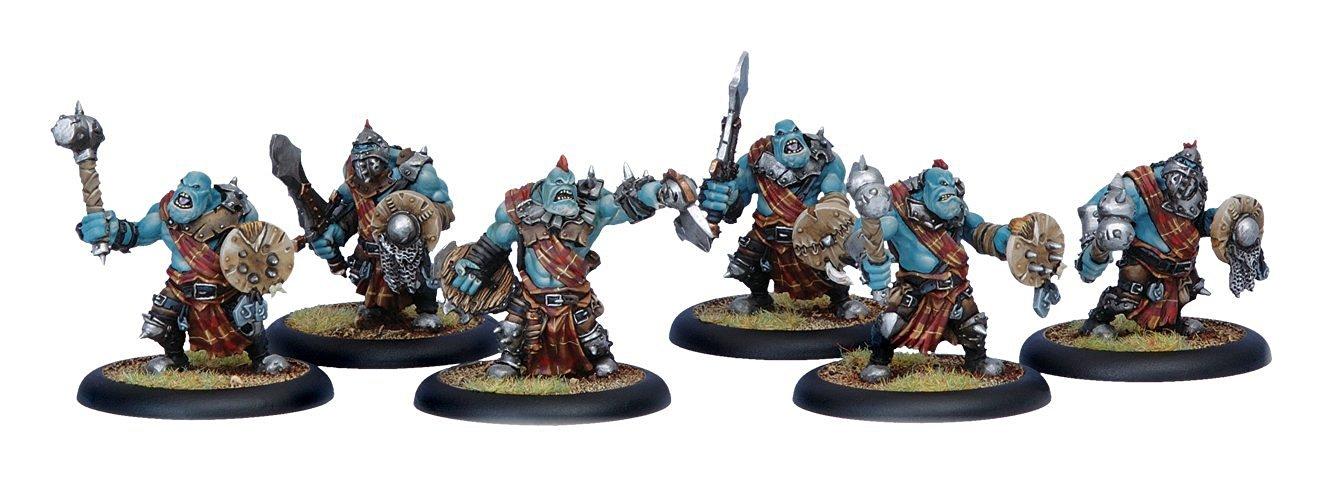 Hordes: Trollbloods Kriel Warriors Unit (6)