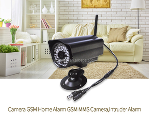 GSM Wireless Home Security System night vision camera with 3 MSM