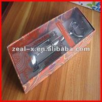 2012 hot sale Red wine opener box with clear lid