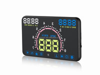 Car led display screen vehicle electronics ce universal digital speedometer for car
