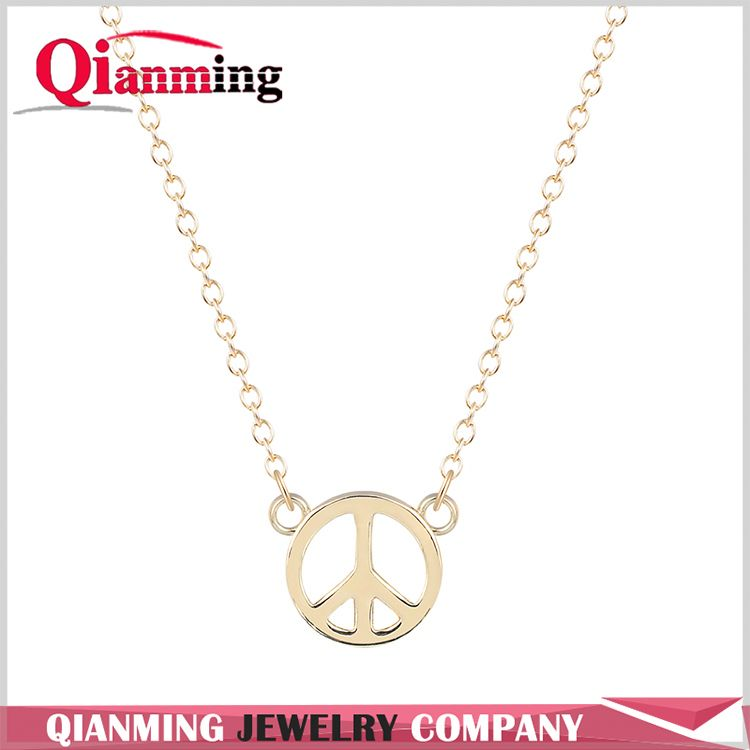 New products OEM design long alloy girl necklace manufacturer sale