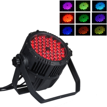 IP65 outdoor waterproof fountain led light dmx 54*3w rgb 3in1 LED par can lights
