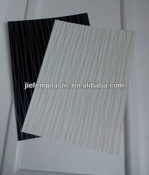 Furniture Self Adhesive Decorative Pvc Laminating Sheet For Cabinets .
