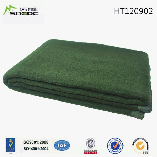 BLUE PHOENIX thick and heavy cheap polyester military army blankets