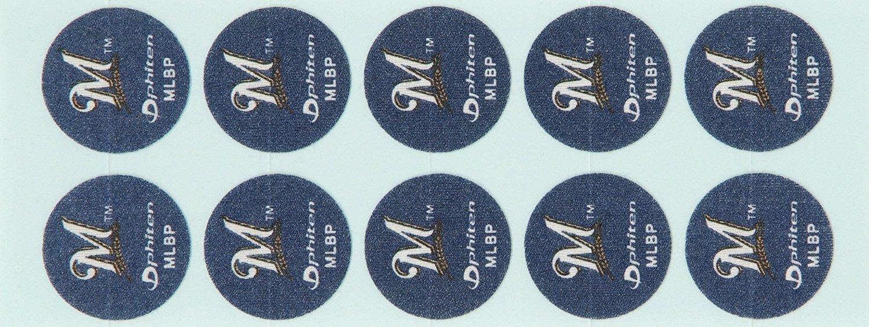 Phiten MLB Authentic Titanium Discs, Milwaukee Brewers, 30 Discs