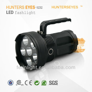 led searchlight torch with high quality with 60W cree leds falshlight S233