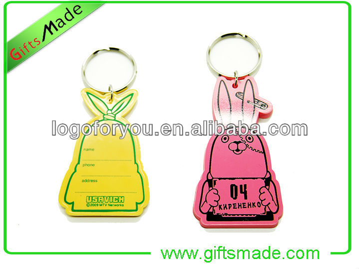 customized design new york keychain