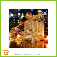 Lighted outdoor led christmas decorations gift boxes