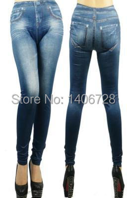 754a04bee5e8f9 Tight Denim Jeans Pants Skinny Jeggings Fashion Women 9070 Stretchy Tights  Slim Leggings for Women | 1st-shopping.com | Online Shopping
