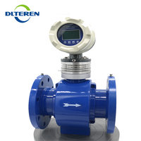 RS485 communication cheap price digital water electronic flow meter