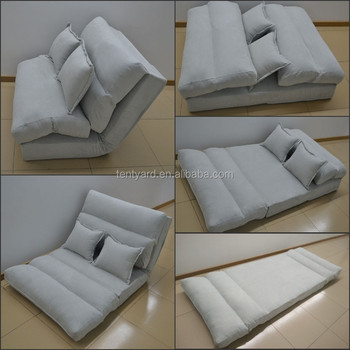 Light Grey Free Style Sofa Bean Bag Bed For Adult And Children