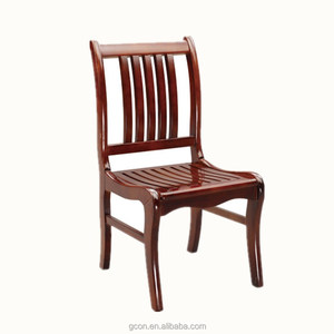 Wooden antique dining room furniture classic chairs used for restaurant