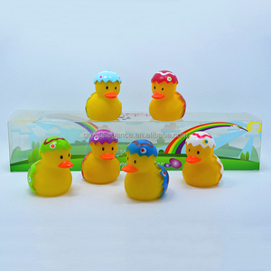 A Set of Festival Gift Promotional Easter Egg Rubber Duck