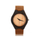Mens Wood Wrist Japan Movt Quartz Watch