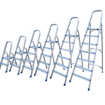 Agility Household Narrow Board Aluminium Folding 2 step Ladder