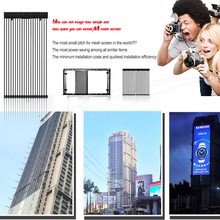 Low Price Transparent Led Mesh Screen Stip Led Display