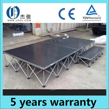 Folding stage /collapsible stage/pop up stage for sale