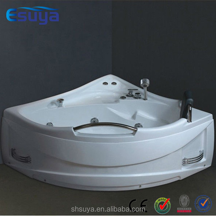 Hydro massage bathtub indoor spa with air bubble jets