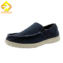 Brand Name Cheap Blue Canvas Casual Shoes