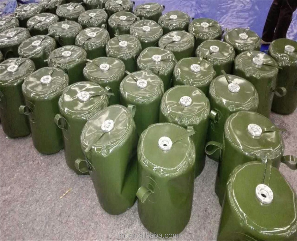 China Military Jerry Cans Gasoline/Diesel Cans Fuel Petrol Portable Tank
