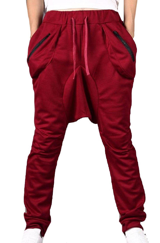 Cromoncent Women Casual Pure Color High Rise Sport Open Bottom Jogger Pants