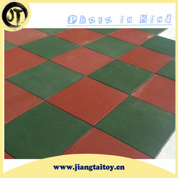 Wholsale Alibaba Safety Mat Outdoor Used Rubber Tiles Jt163401