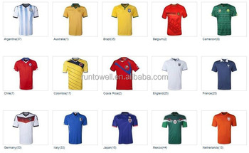 06bb093056f Hot sale 14/15 soccer uniform , soccer uniforms,thailand quality soccer wear