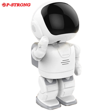 Home Security Smart 960P Robot Thermal 4G Shop Anti-theft Camera With Gudelines