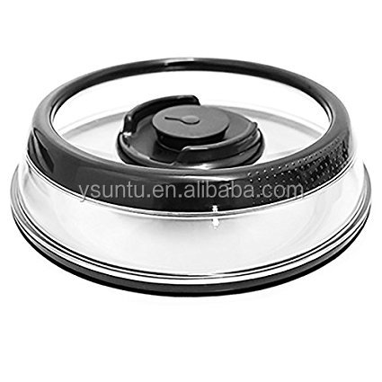 Hot product food storage excellent houseware tv shopping push button cover Press Dome