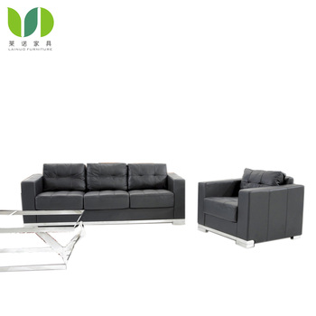 Corner Heated Leather Sofa