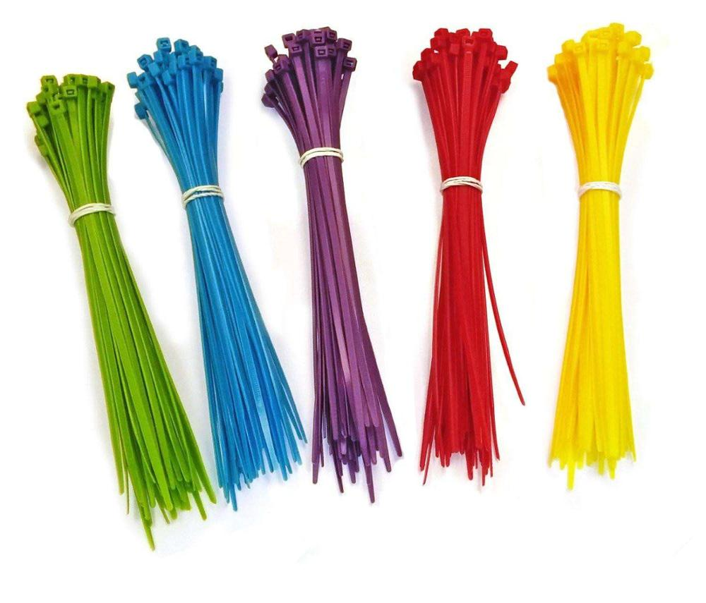Hampool High Quality 2.5*100MM Wholesale Factory Direct Self Locking Hotselling Nylon Cable <strong>Tie</strong>